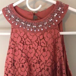 FINAL PRICE!!!!Coral Boutique lace dress